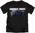 Criminal Minds kids t-shirt Season 10 Cast black