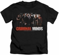 Criminal Minds kids t-shirt The Brain Trust black