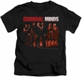 Criminal Minds kids t-shirt The Crew black