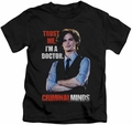 Criminal Minds kids t-shirt Trust Me black