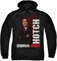 Criminal Minds pull-over hoodie Hotch adult black