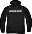 Criminal Minds pull-over hoodie Logo adult black