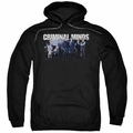 Criminal Minds pull-over hoodie Season 10 Cast adult black