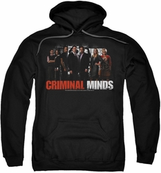 Criminal Minds pull-over hoodie The Brain Trust adult black