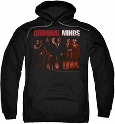 Criminal Minds pull-over hoodie The Crew adult black