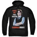 Criminal Minds pull-over hoodie Trust Me adult black