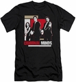 Criminal Minds slim-fit t-shirt Guns Drawn mens black