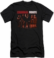 Criminal Minds slim-fit t-shirt The Crew mens black