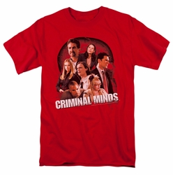 Criminal Minds t-shirt Brain Trust mens red