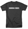 Criminal Minds t-shirt Logo mens black
