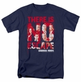 Criminal Minds t-shirt No Escape mens navy