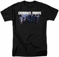 Criminal Minds t-shirt Season 10 Cast mens black