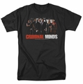 Criminal Minds t-shirt The Brain Trust mens black