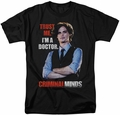 Criminal Minds t-shirt Trust Me mens black