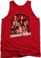 Criminal Minds tank top Brain Trust mens red