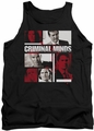 Criminal Minds tank top Character Boxes mens black
