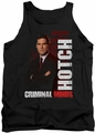 Criminal Minds tank top Hotch mens black