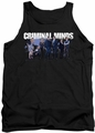 Criminal Minds tank top Season 10 Cast mens black
