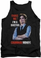 Criminal Minds tank top Trust Me mens black