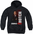Criminal Minds youth teen hoodie Hotch black