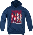 Criminal Minds youth teen hoodie No Escape navy