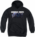 Criminal Minds youth teen hoodie Season 10 Cast black