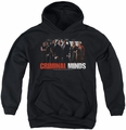Criminal Minds youth teen hoodie The Brain Trust black
