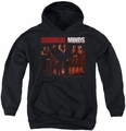 Criminal Minds youth teen hoodie The Crew black