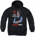 Criminal Minds youth teen hoodie Trust Me black