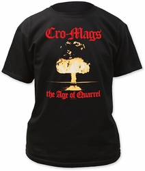 Cromags The Age Of Quarrel Adult t-shirt pre-order
