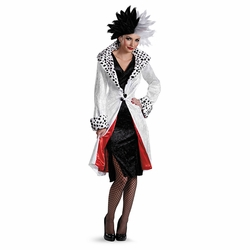 Cruella De Vil Prestige Adult Costume from Disney