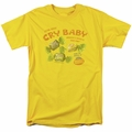 Cry Babies t-shirt Vintage Ad mens yellow