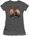 Cry Baby juniors t-shirt Drapes charcoal