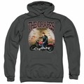 Cry Baby pull-over hoodie Drapes adult charcoal