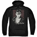 Cry Baby pull-over hoodie Drapes & Squares adult black