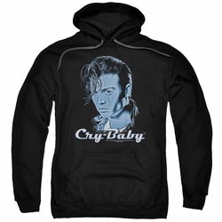 Cry Baby pull-over hoodie King Cry Baby adult black