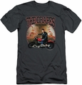 Cry Baby slim-fit t-shirt Drapes mens charcoal