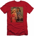 Cry Baby slim-fit t-shirt Kiss Me mens red