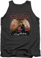 Cry Baby tank top Drapes mens charcoal