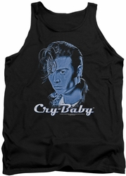 Cry Baby tank top King Cry Baby mens black