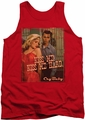 Cry Baby tank top Kiss Me mens red