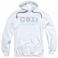 CSI Cyber pull-over hoodie Logo adult white