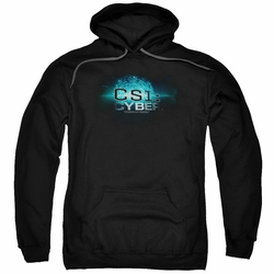 CSI Cyber pull-over hoodie Thumb Print adult black