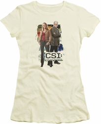 CSI juniors t-shirt Back To Back cream