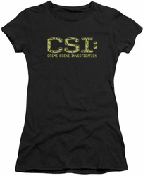 CSI juniors t-shirt Collage Logo black