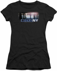 CSI juniors t-shirt New York Subway black