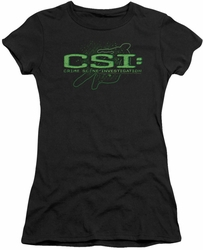 CSI juniors t-shirt Sketchy Shadow black
