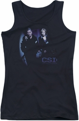 CSI juniors tank top At The Scene black