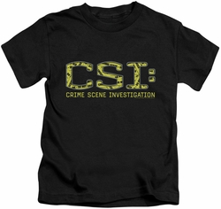 CSI kids t-shirt Collage Logo black