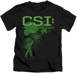 CSI kids t-shirt Evidence black